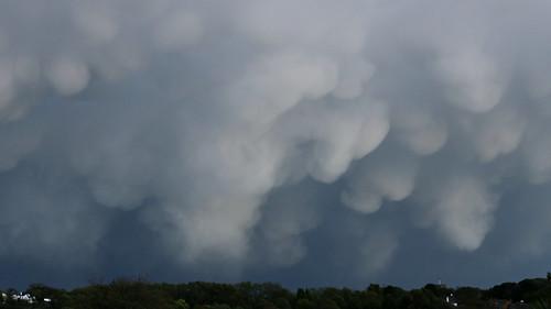 Mammatus Clouds!