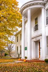 Evans House Pillars