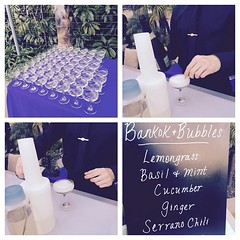 #Cocktails and #Bubbles @LidoRestaurant @bubblyfest @beachbutlerz #ShareSLO #bubblyfest