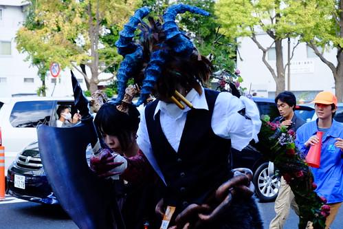 Kawasaki Halloween parade 2014 13