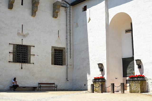 Quiet corner, Hohensaltzburg Fortress, Salzburg