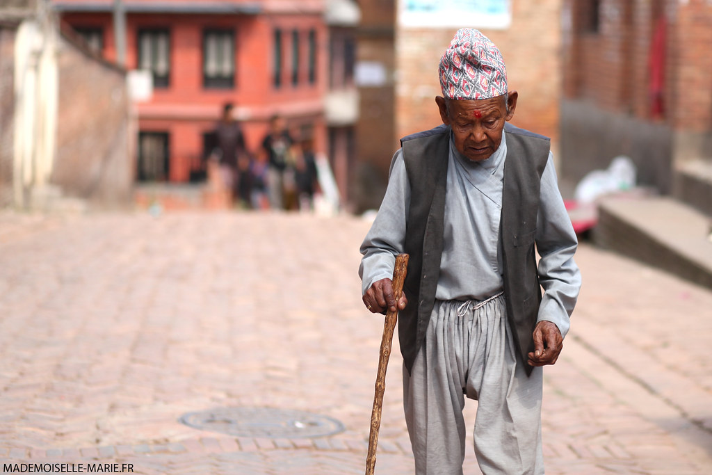 On the street, Bhaktapur (Nepal)