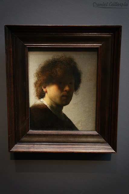 Self-portrait, Rembrandt