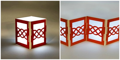 Celtic Knot Lantern Paper Craft Kit - Helen Hiebert