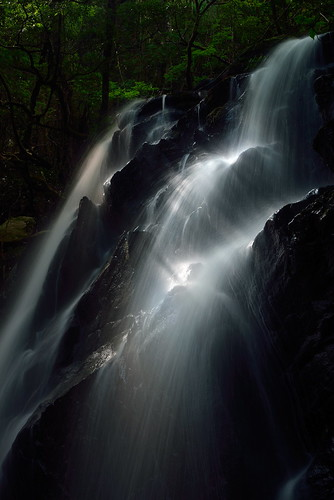 water japan landscape waterfalls