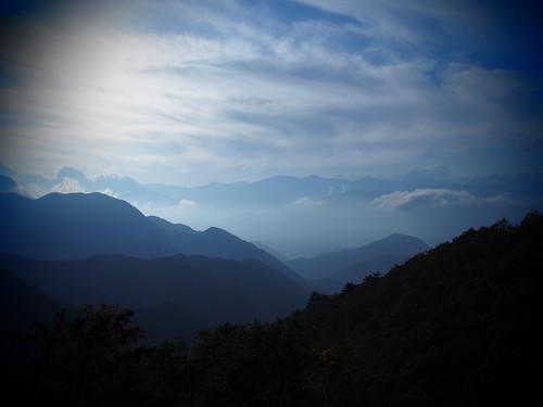 「中国みたいな所」って言って連れて行かれた場所が雲海だった。