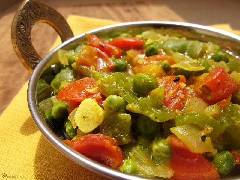 zelenina s kari masala 009