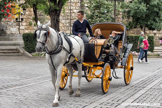Se locomover em Sevilha de carruagem