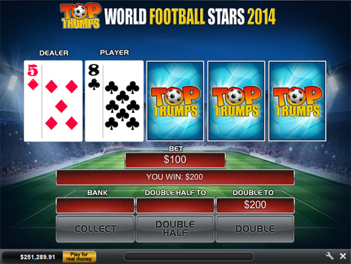 free Top Trumps World Football Stars 2014 Gamble Feature
