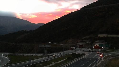 sunset mobilephone metsovo μέτσοβο