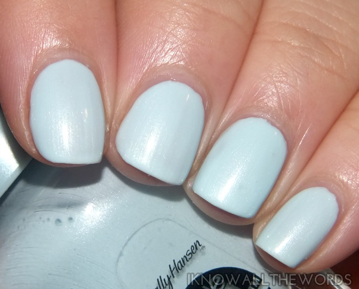 sally hansen miracle gel- tea party  (1)