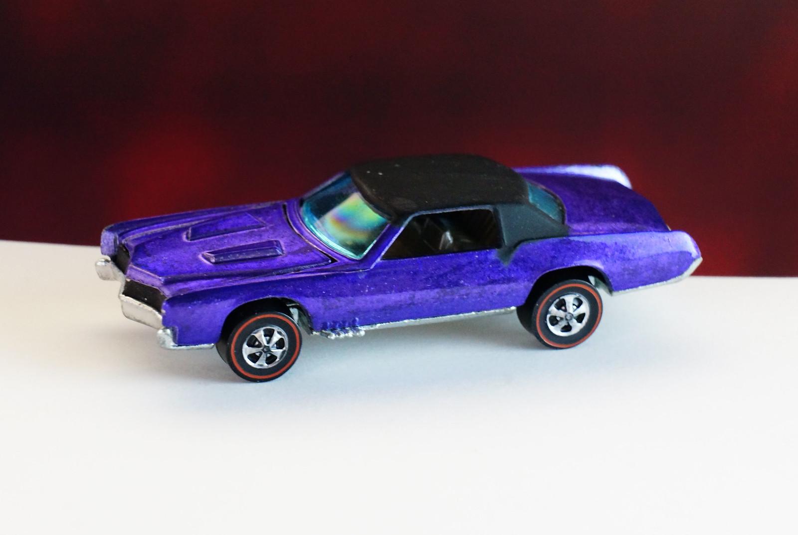 Hot Wheels Redline Purple Custom Eldorado HK