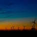Another night on the windfarm by floyka