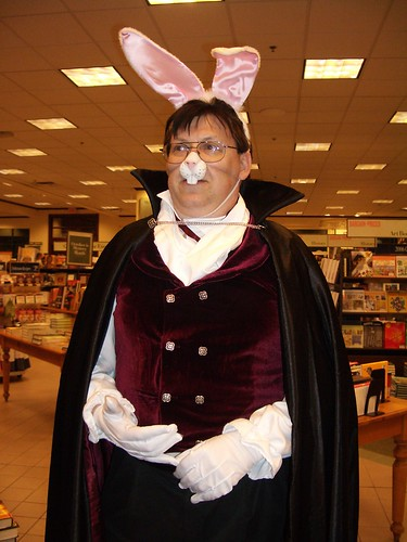 Daniel W. Kiernan as the vampire bunny, Bunnicula.