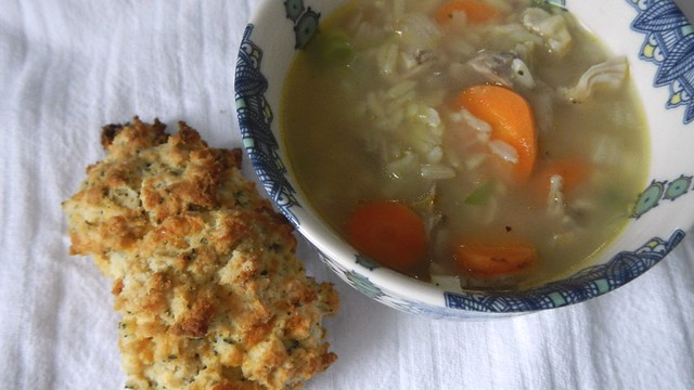Chicken Soup with Rice 16
