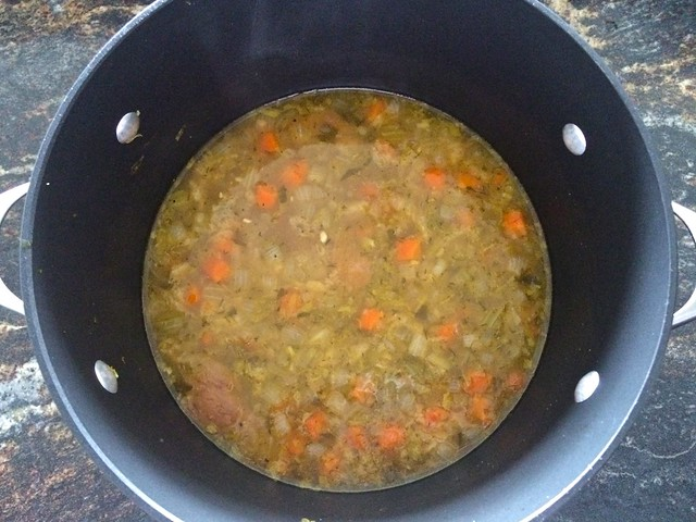 Chicken Soup After Reducing
