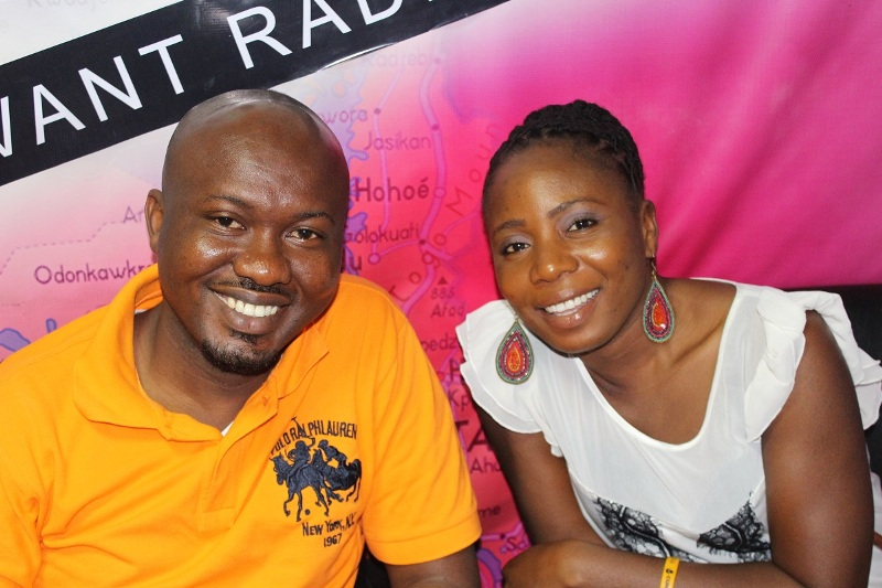 Joshua Nyarko and Charlotte Kafui Boh