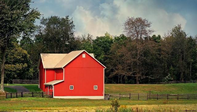 Red Barn on Mishler Road