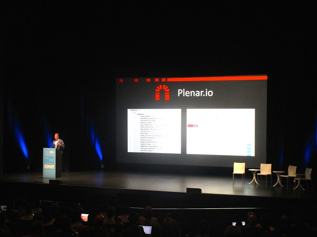 Brett Goldstein Presenting Plenar.io at Code for America Summit 2014