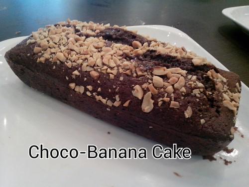 Chef Jac's Choco Banana  Cake