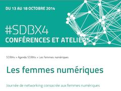 Semaine digitale Bordeaux - Les femmes numériques - OSez au féminin grâce au web