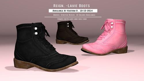 REIGN.-Lavie-Boots