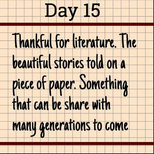 Day 15. Literature