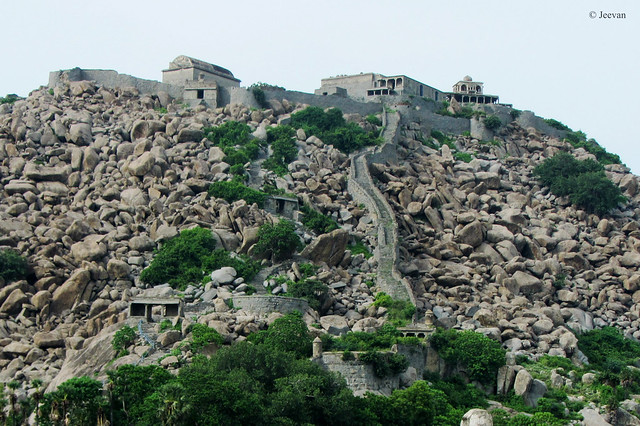 Krishnagiri Fort – a part of Gingee Fortress