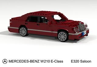 Mercedes-Benz W210 E-Class. E320 Saloon 1998