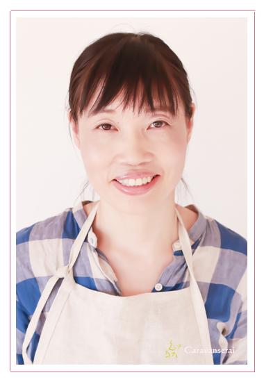 プロフィール写真 ポートレート 女性カメラマン ナチュラル うっそうcafe(カフェ) 愛知県瀬戸市 農家カフェ 有機野菜