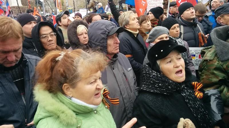 Митинг за Донбасс #3