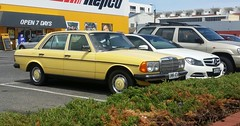 automobile, automotive exterior, executive car, vehicle, mercedes-benz w123, mercedes-benz, compact car, sedan, land vehicle, luxury vehicle,