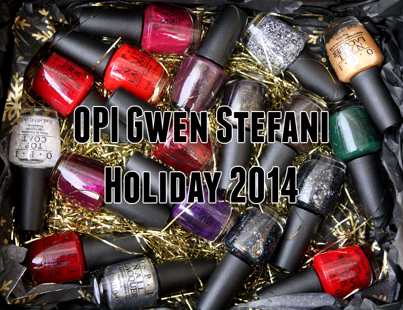 OPI Gwen Stefani holiday 2014 all