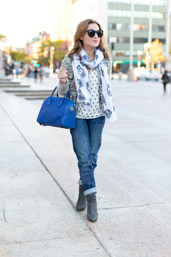 Petite Boyfriend Jeans in Boston