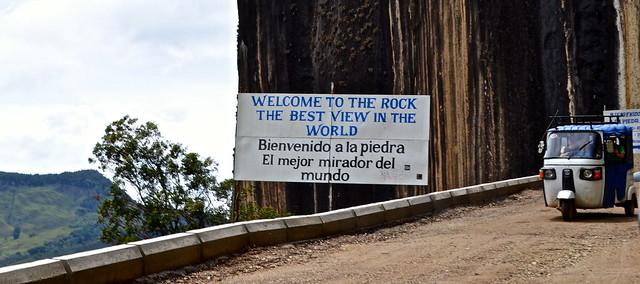 best view - mirador - piedra del peñol, colombia