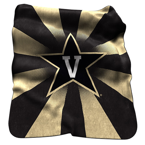 Vanderbilt Commodores NCAA Raschel Blanket