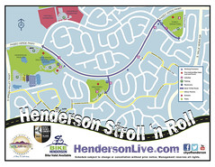 Nov 15 Stroll 'N' Roll Map @ Henderson, NV 11.2014