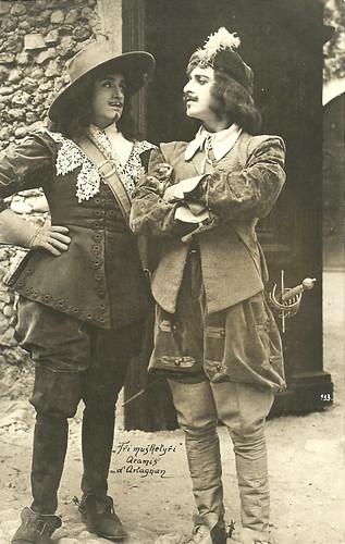 Pierre de Guingand and Aimé Simon-Girard in Les trois mousquetaires