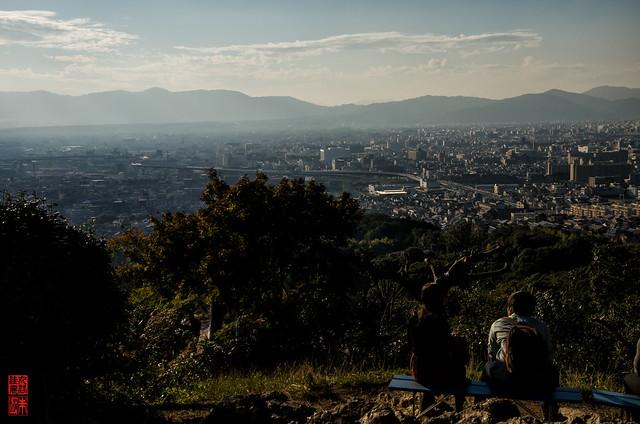 「眺望」 伏見稲荷 - 京都