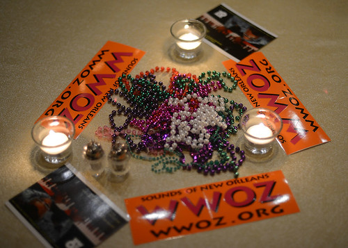 WWOZ Party in NYC, Oct 2014