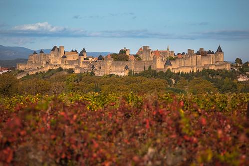 france castle landscape carcassonne citédecarcassonne medievalfortress