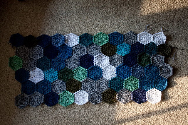 Afghan in Progress
