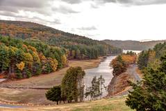 Barkhamsted Reservoir, Saville Dam Spillway
