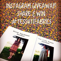Awesome giveaway by @tessutifabrics!