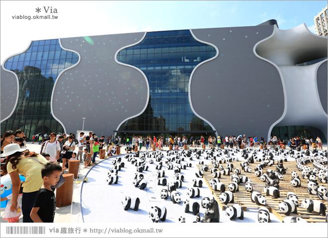 【台中】大都會歌劇院~可愛紙熊貓大軍來襲!台中七期的新亮點!6