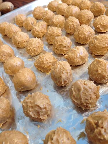 Peanut Butter Truffle centers
