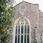 St Thomas of Canterbury church in the village of Thorverton, Devon