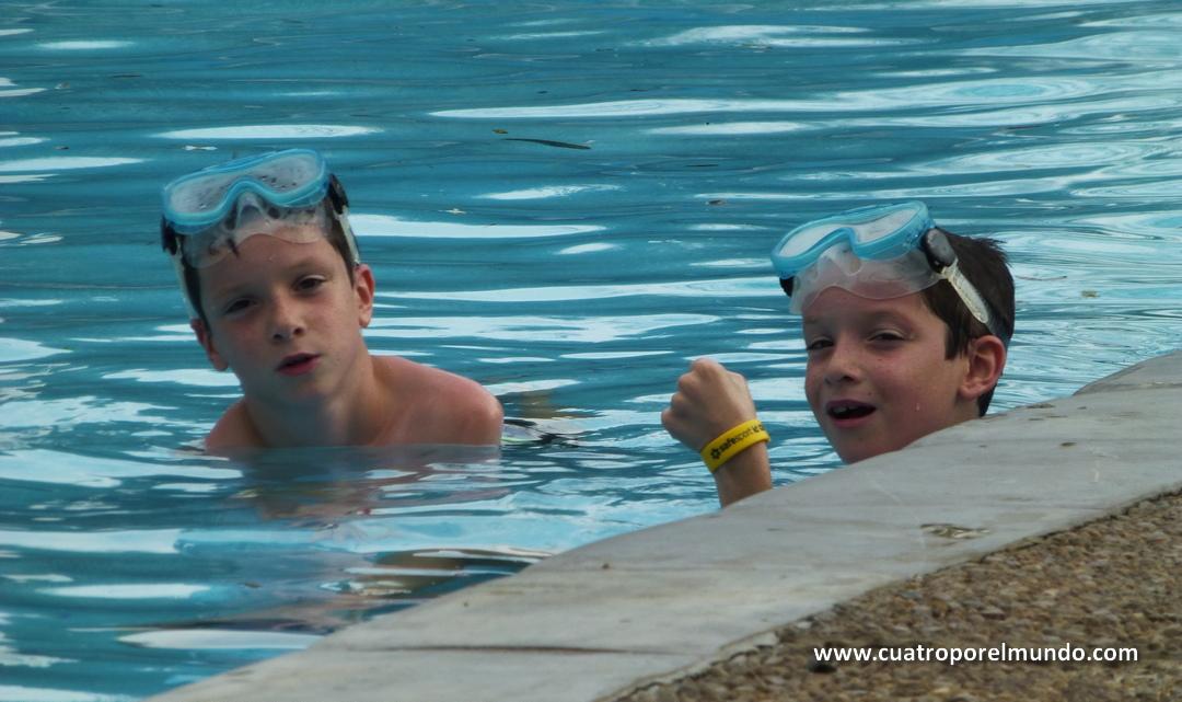 Otro rato de piscina despues de las clases