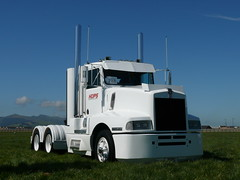 Kenworth at show