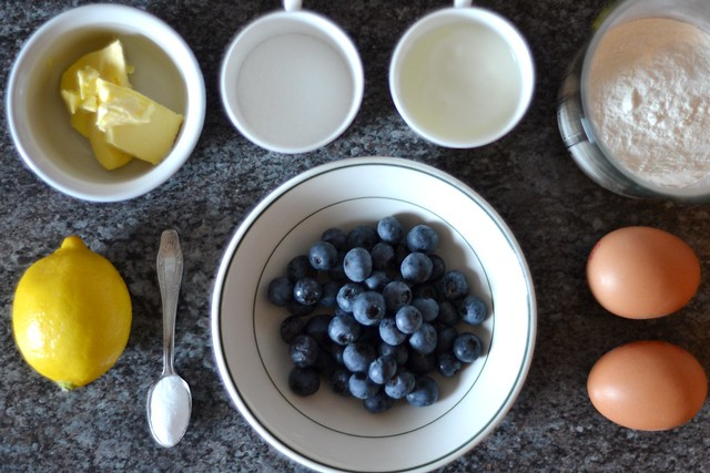 Gluten Free Blueberry and Lemon muffins recipe